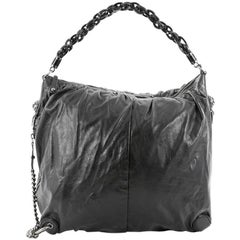 Gucci Galaxy Convertible Hobo Leather Large