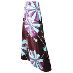 Pucci Long Velvet Skirt