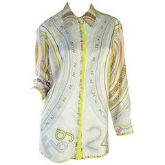 Hermes Silk Long Blouse
