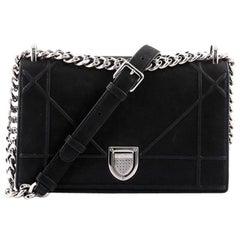 Christian Dior Diorama Flap Bag Iridescent Nubuck