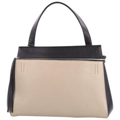 Celine Edge Bag Leather Large is the quintessential