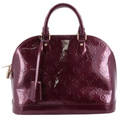 Louis Vuitton Monogram Vernis PM Alma Handbag