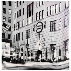 Akris Exclusive Bergdorf Goodman 111th Anniversary Grey Printed Cashmere Scarf