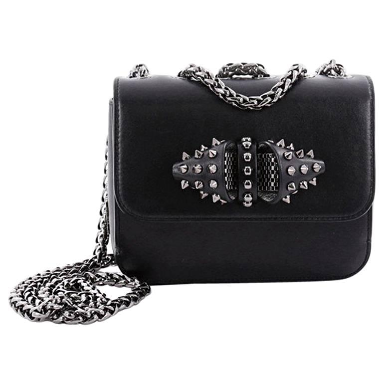 f7e12746397 Christian Louboutin Sweet Charity Crossbody Bag Spiked Leather Baby