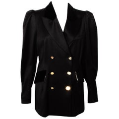 Vivienne Westwood Black Double Breasted Jacket