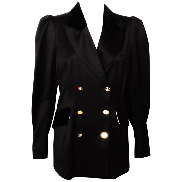 a10207e6c915 Vivienne Westwood Mens Navy Blue Wool Belted Trench Coat. Home FashionClothingJackets. Vivienne Westwood Black Double Breasted Jacket For  Sale