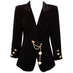 Christian Lacroix Black Charm Jacket