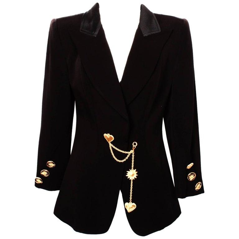 Christian Lacroix Black Charm Jacket