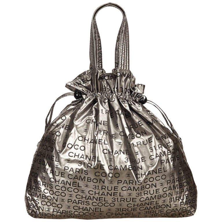 32a194f5dc01 Chanel Silver Unlimited Tote Bag For Sale at 1stdibs