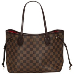 Louis Vuitton Brown Damier Neverfull PM