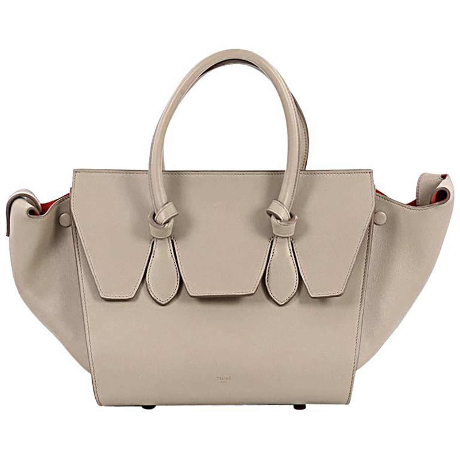 3771a3c39d Celine Tie Knot Tote Smooth Leather Mini at 1stdibs
