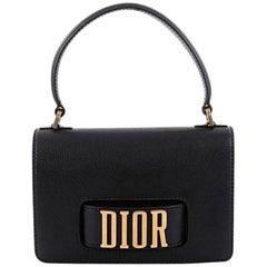 Christian Dior Dio(r)evolution Top Handle Flap Bag Leather Medium