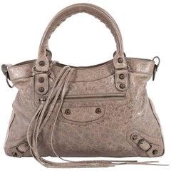 Balenciaga Town Classic Studs Handbag Leather