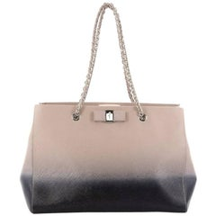 Salvatore Ferragamo Melike Tote Saffiano Leather Medium