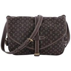 Louis Vuitton Saumur Handbag Mini Lin