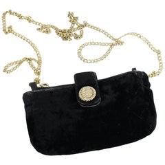 Chanel Vintage Micro Velvet Bag