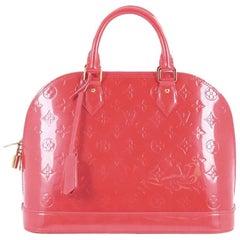 Louis Vuitton Monogram Vernis PM Alma Handbag
