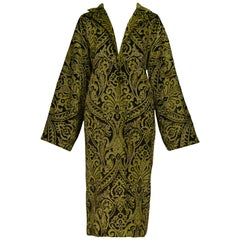 Dolce & Gabbana Important Velvet Beaded Coat