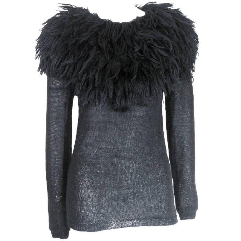 Comme des Garcons 1995 Collection Lion's Mane Sweater 1