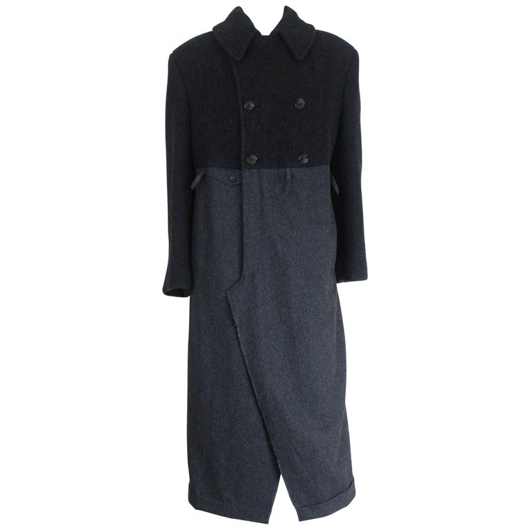 Comme des Garcons 1993 Collection Baggy Trousers Coat