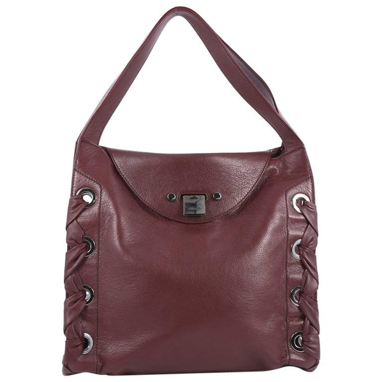 Jimmy Choo Rion Tote Leather For Sale