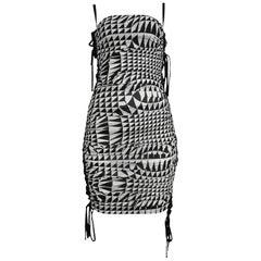 Runway Dolce & Gabbana Harlequin Corset Dress 2003
