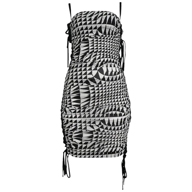 Runway Dolce & Gabbana Harlequin Corset Dress 2003 1