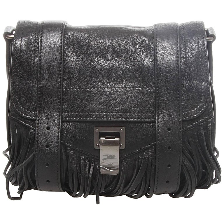 Proenza Schouler PS1 Fringed Mini Crossbody Bag
