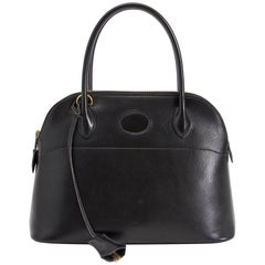 Hermes Black Boxcalf Bolide 27 Bag