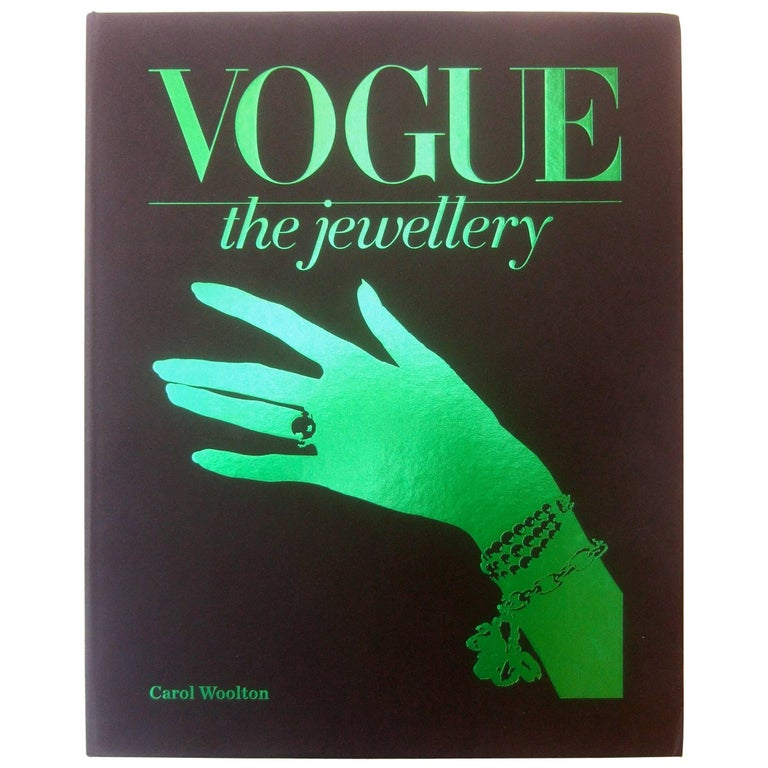 Vogue The Jewellery Hard Cover Book in Presentation Box by Carol Woolton  For Sale