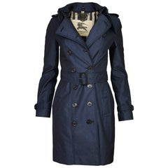 Burberry London Queenshouse Trench Coat Sz US4