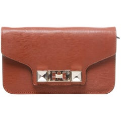 Proenza Schouler PS11 Brown Chain Wallet