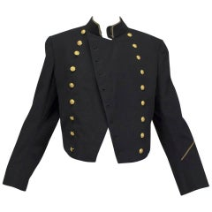 US Navy Cadet Bandleader Military Jacket, 1953