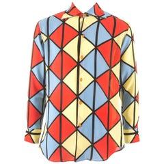 Vivienne Westwood Autumn-Winter 1989 Men's 'Voyage to Cythera' harlequin shirt