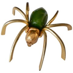 Art Deco Bakelite Spider Pin