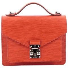 Louis Vuitton Monceau Handbag Epi Leather BB