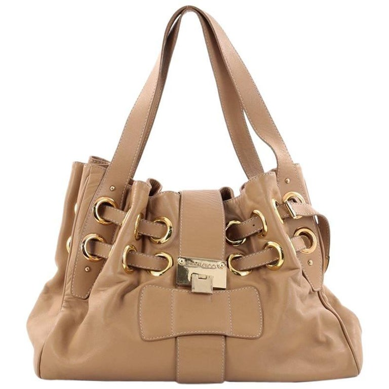 Jimmy Choo Ramona Hobo Leather For Sale