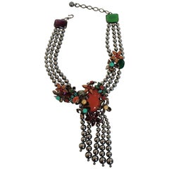 Philippe Ferrandis Opera Tassel Necklace