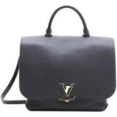 """Louis Vuitton """"Volta"""" Shoulder Bag in Black Taurillon Leather"""
