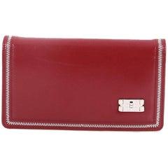 Chanel Mademoiselle Lock Yen Wallet Lambskin