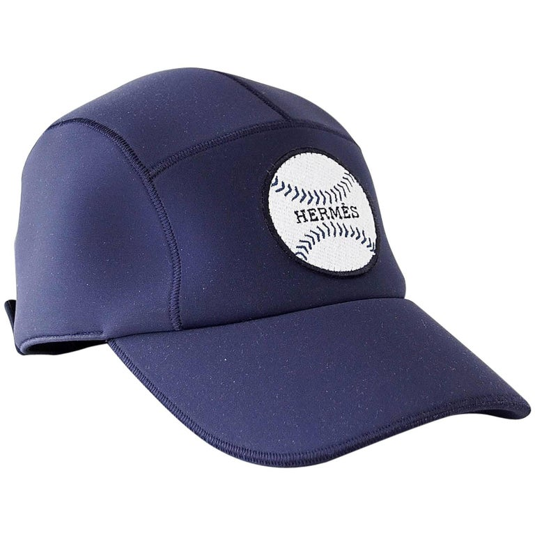 7573d5882e7fe2 Hermes Hat Limited Edition Baseball Cap 59 New For Sale at 1stdibs