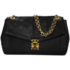 Louis Vuitton Black Empreinte St Germain PM Bag