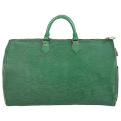 Louis Vuitton Green Epi Leather Speedy Bag, 1990