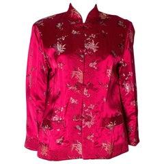 Reversable Chinese Silk Jacket