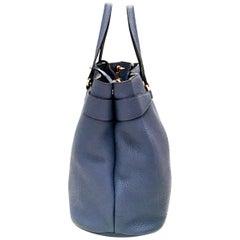 Gucci Large Shoulder Bag / Tote - Leather - Gold Tone Horsebit