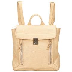 Phillip Lim Brown Leather Pashli Backpack