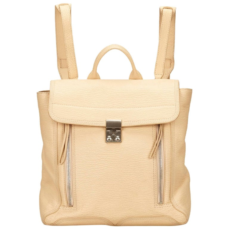 Phillip Lim Brown Leather Pashli Backpack For Sale