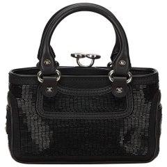 Celine Black Beaded Boogie Bag