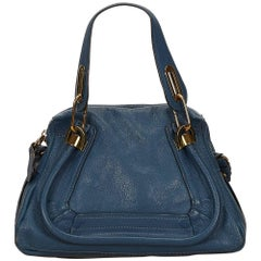 Chloe Blue Leather Paraty