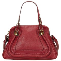 Chloe Red Leather Paraty